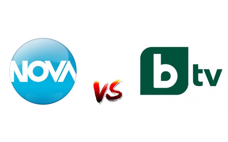 Прoграмите на националните телевизии понижават IQ-то на зрителите (2016): bTV vs NOVA