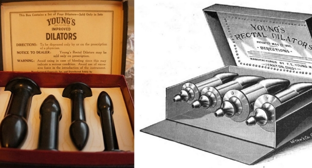 През 19 век дилдото е било универсален лек за всичко