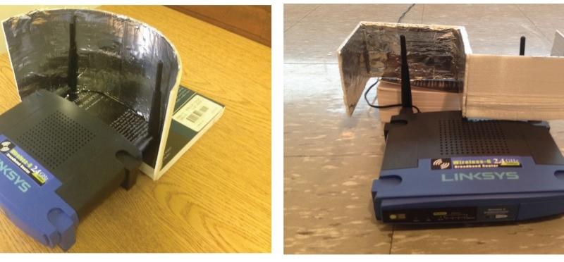Можем да подобрим качеството на wi-fi сигнала чрез алуминиево фолио
