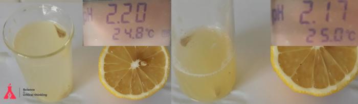 Митът за алкалния лимонов сок и алкалната диета